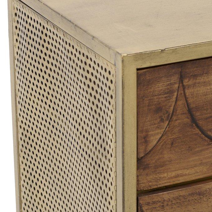 Комод с тремя ящиками и дверцей