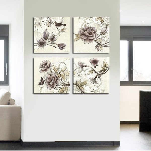 Декоративная картина: Легкость в цветах