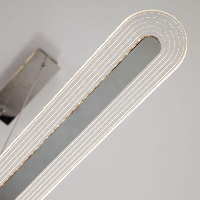 Подвесной светодиодный светильник Eurosvet Alamo хром