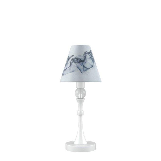 Настольная лампа Eclectic с белым основанием