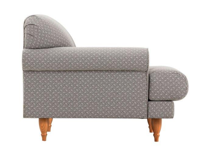 Кресло Italia серого цвета