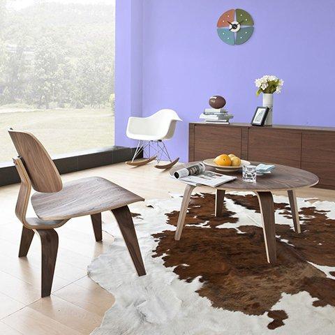 Стол кофейный из дерева ценных пород