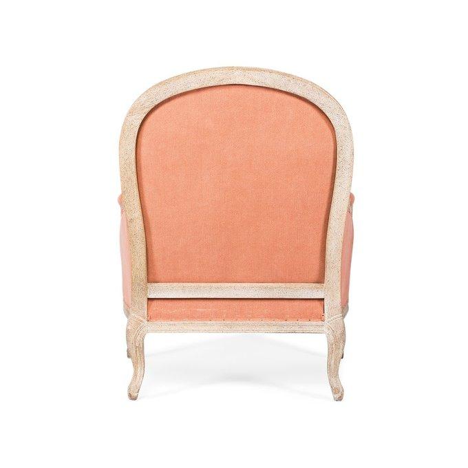Кресло Kusk розового цвета