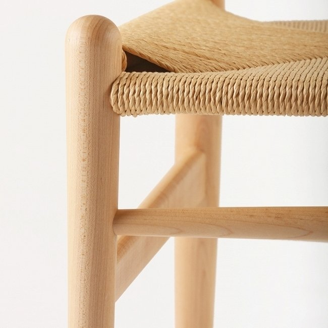 Стул Wishbone  с бумажным сиденьем