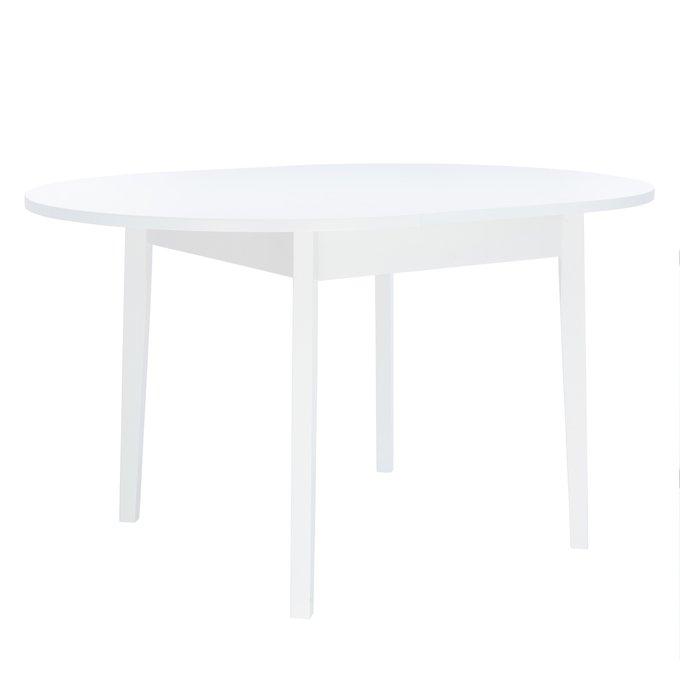Стол раздвижной Leset Говард 1P белого цвета