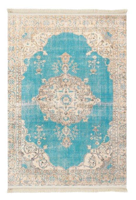 Ковер бежево-голубого цвета 120x180