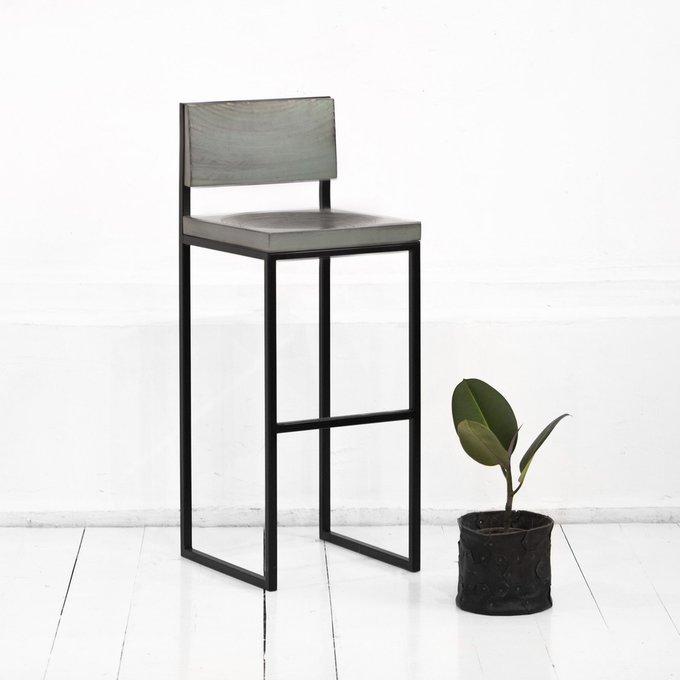 Барный стул Fullmoon в сером цвете
