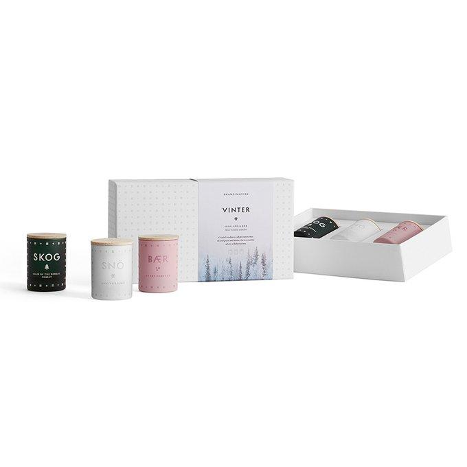 Набор из трех ароматических свечей Vinter mini