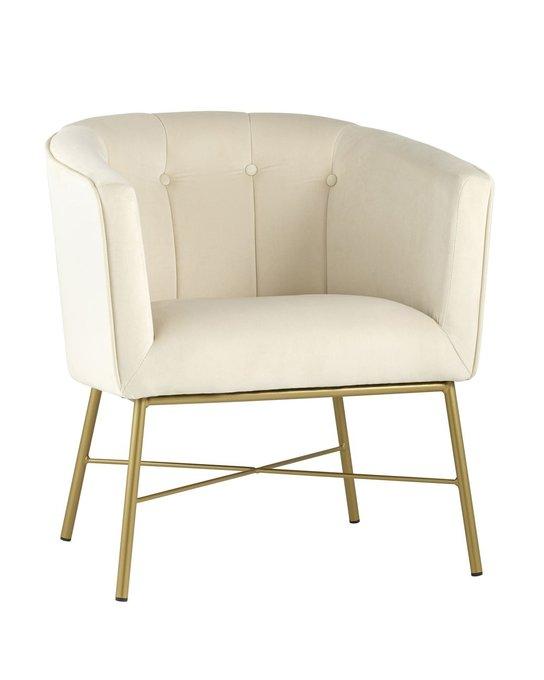 Кресло Шале бежевого цвета