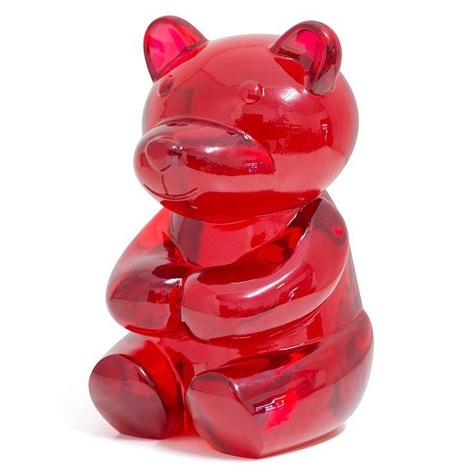 Книгодержатель Balvi yummy bear красный