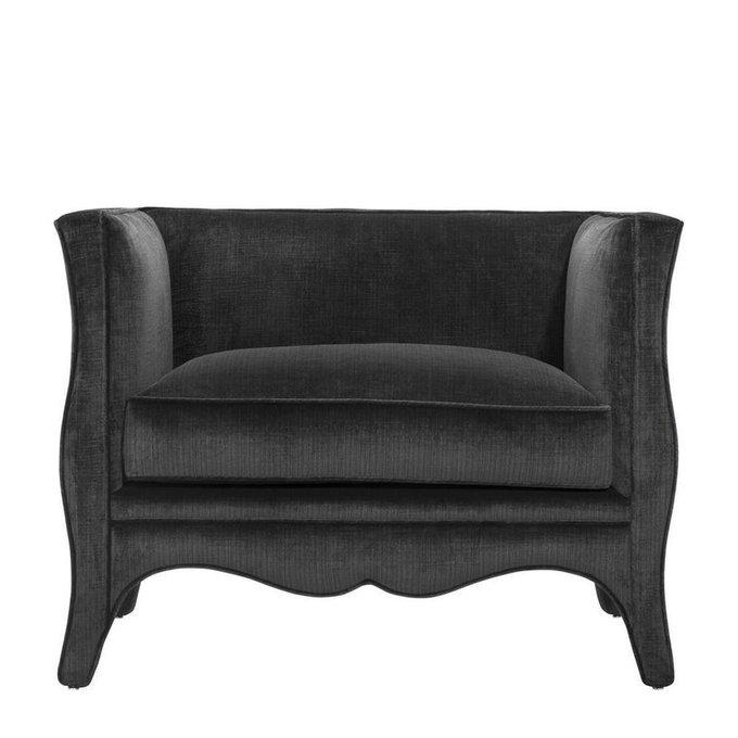 Кресло Bouton черного цвета