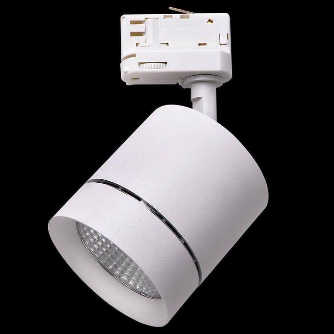 Трековый светодиодный светильник Canno Led белого цвета