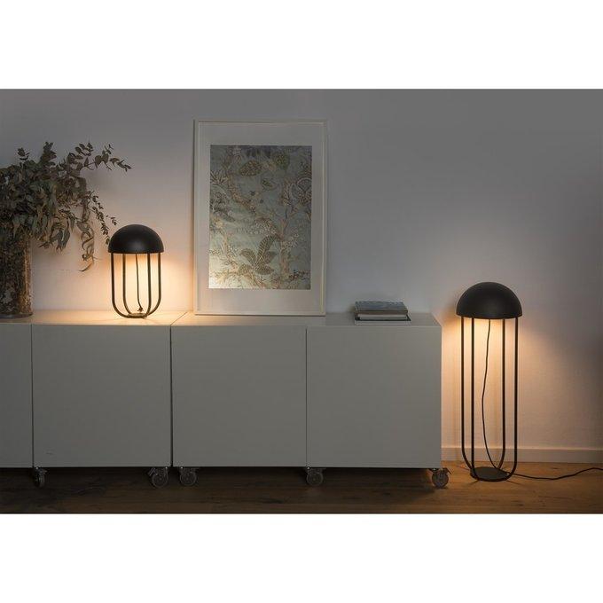 Настольная лампа Jellyfish черного цвета