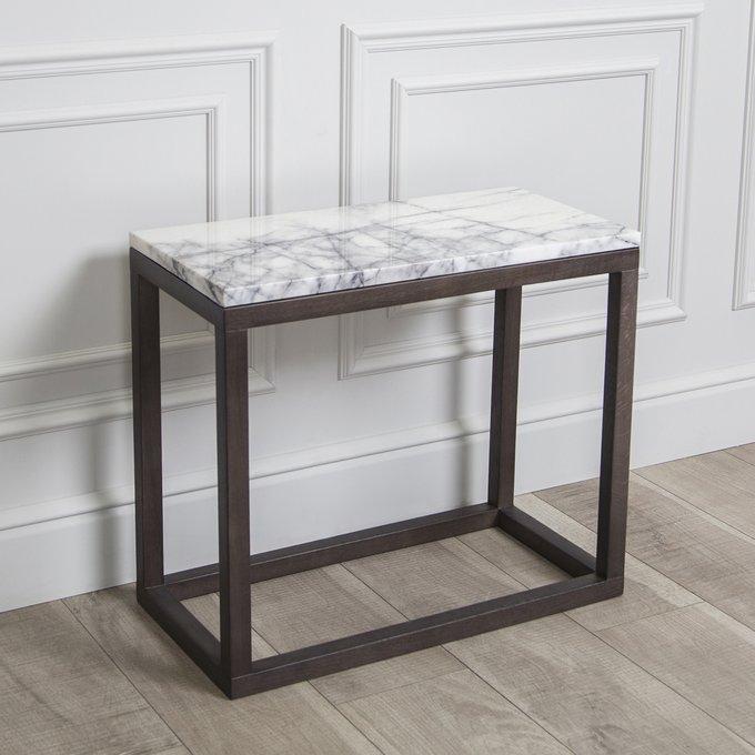 Придиванный столик Lodi c мрамором Stella Bianca