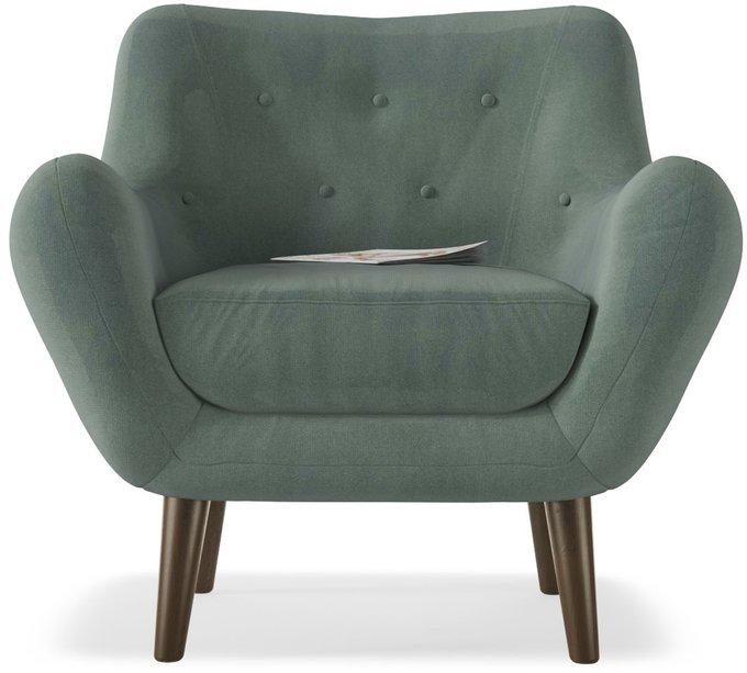 Кресло Элефант Luna 15 зеленого цвета