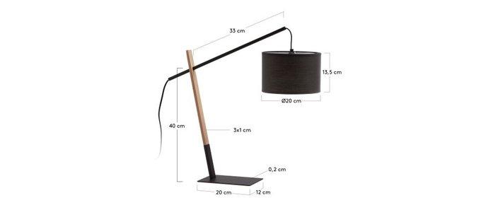 Настольная лампа Julia IZAR Black