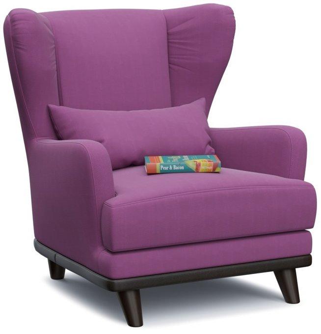 Кресло Роберт Берри фиолетового цвета