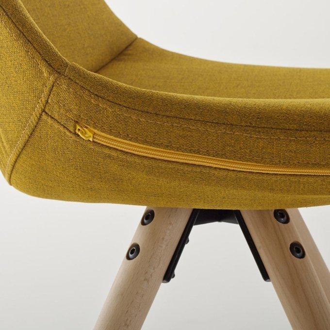 Комплект из двух стульев Asting желтого цвета