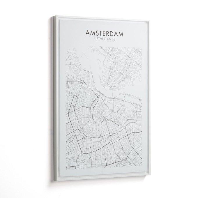 Картина Uptown Amsterdam на холсте