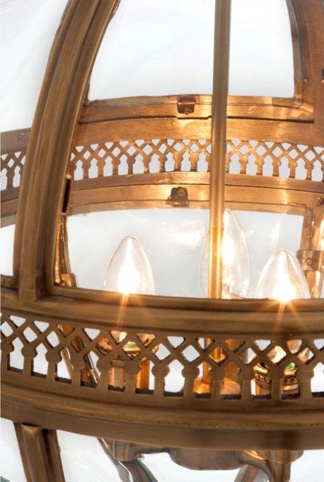 Подвесной светильник Eichholtz Lanternиз стекла и металла