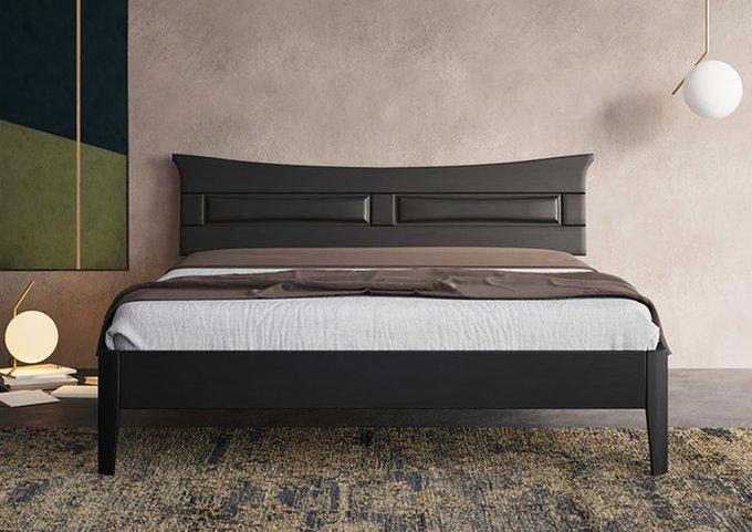 Кровать Лацио 3 ясень-орех 140х200