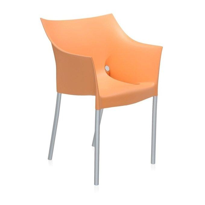 Кресло Dr. NO оранжевого цвета