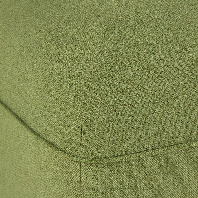Угловой модуль дивана зеленого цвета