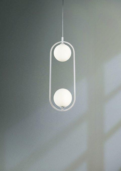 Подвесной светильник Ring из металла и стекла