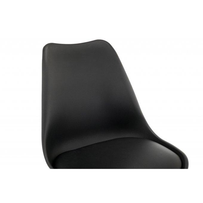 Барный стул Burbon черного цвета