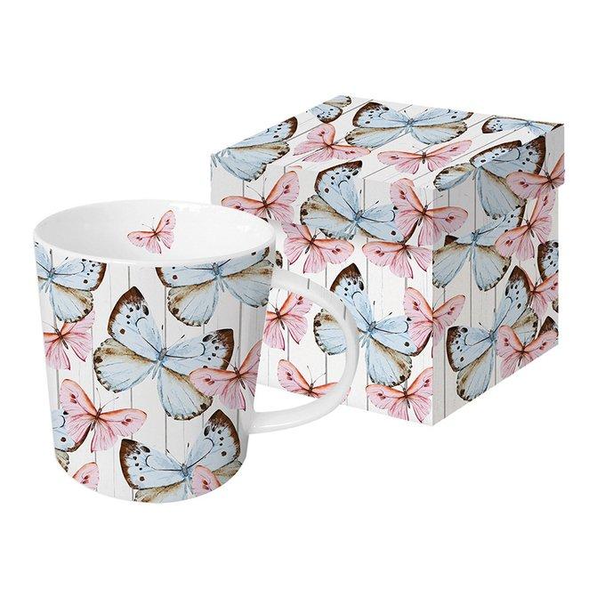 Кружка в подарочной упаковке Paperproducts Design butterfly dream 350 мл