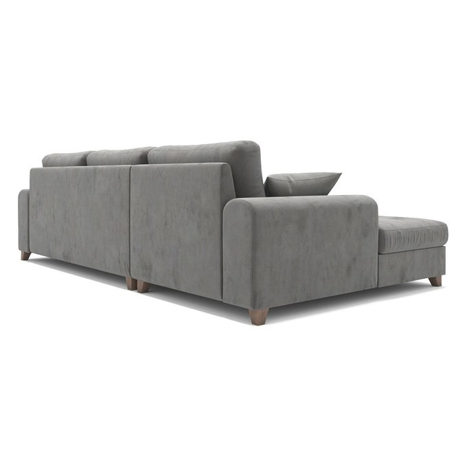 Диван-кровать Vittorio MTR угловой серого цвета