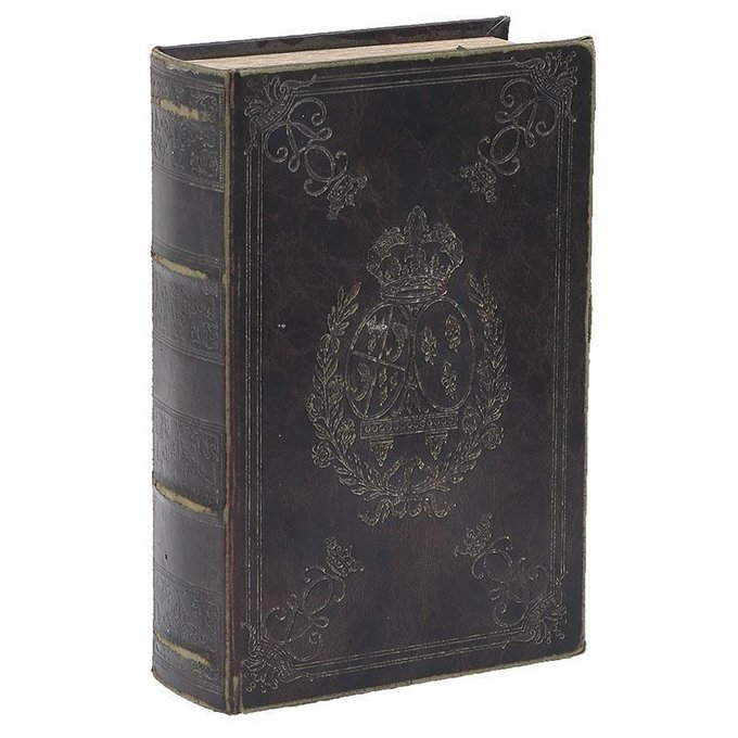Декоративная шкатулка в виде книги