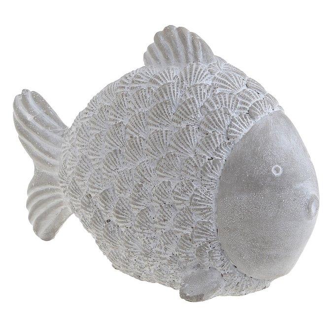 Декор настольный Sea серого цвета