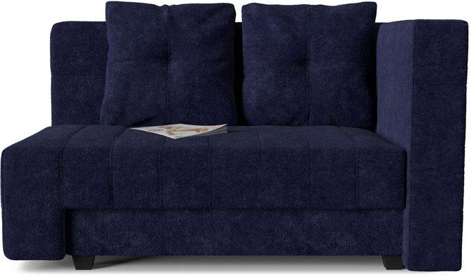 Диван-кровать прямой Корфу NEXT Denim темно-синего цвета