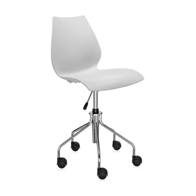 Офисный стул Maui светло-серого цвета