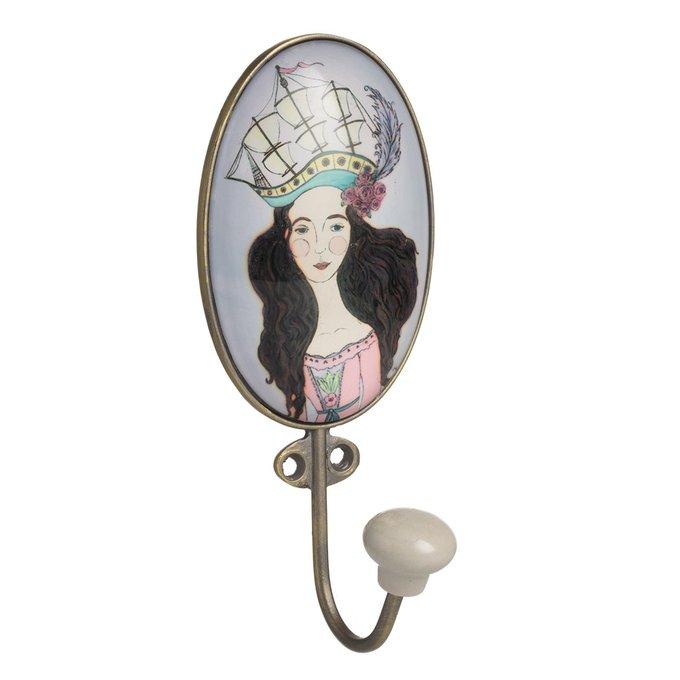 Настенный крючок Anaden Glass Girl