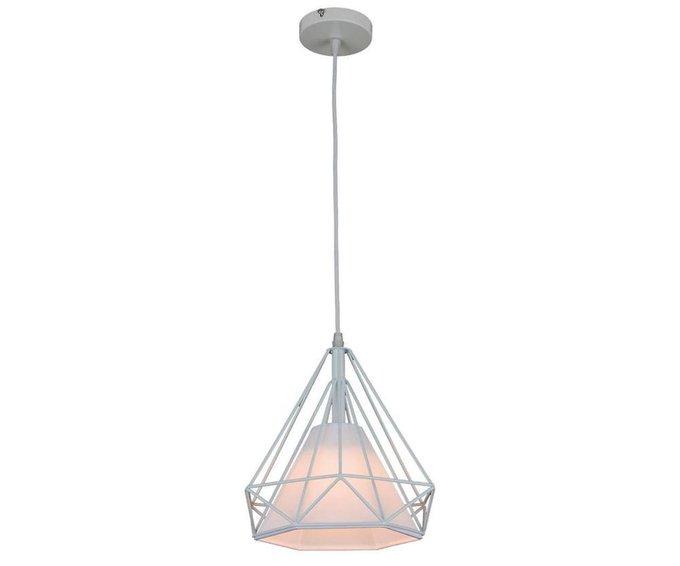 Подвесной светильник Ринетта белого цвета