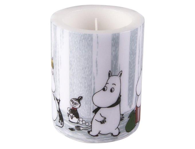 Свеча Moomin Зимнее путешествие