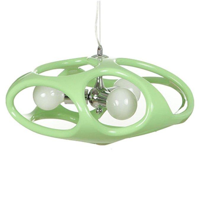 Подвесной светильник Тимоша зеленого цвета