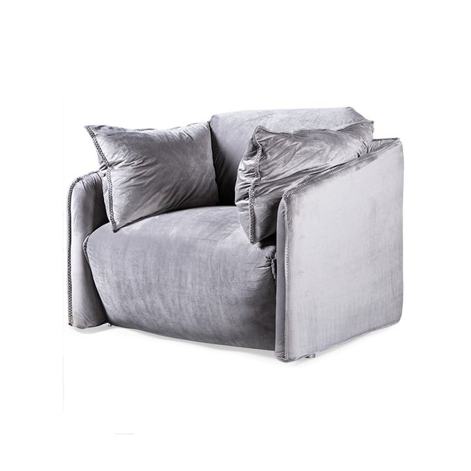 Кресло Zipline серого цвета