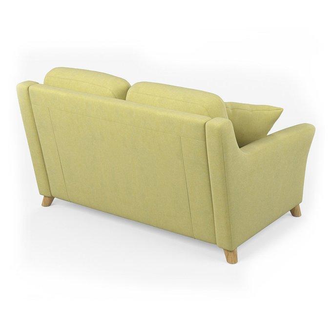 Диван-кровать Raf MT двухместный светло-зеленого цвета
