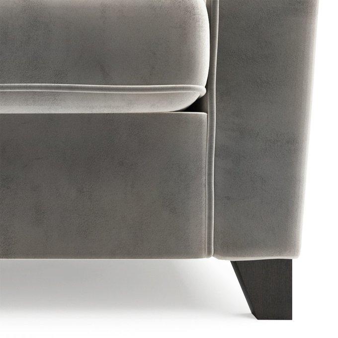 Двухместный диван Wolsly ST серого цвета