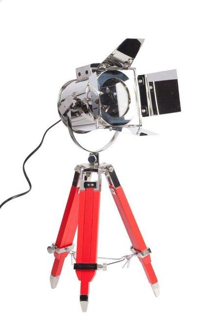 Настольная лампа Riflettore Red