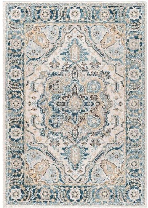 Ковер бежево-голубого цвета 180x280