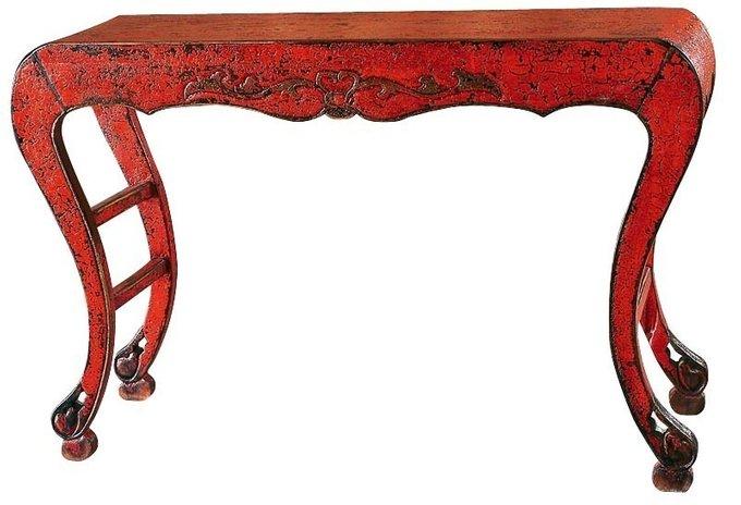 Консоль Сян-Ань красного цвета
