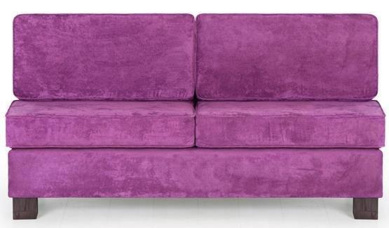 Диван прямой Кивик (Лейла) фиолетового цвета