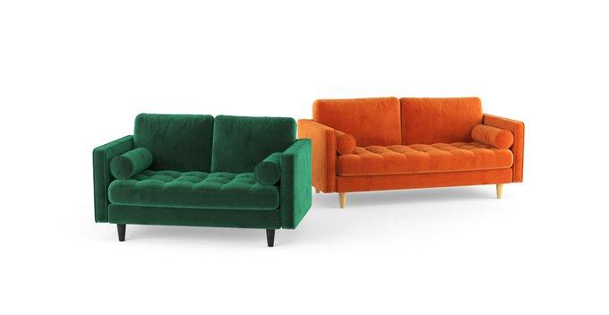 Двухместный диван Scott ST зеленый