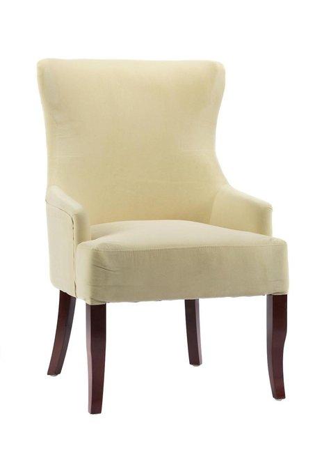 Кресло Aldo молочного цвета