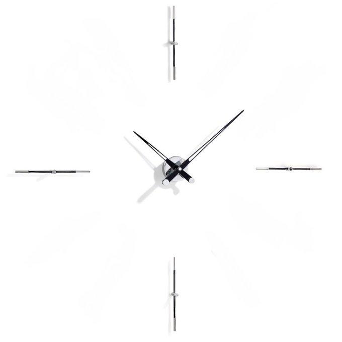 Настенные часы Merlin с черными стрелками