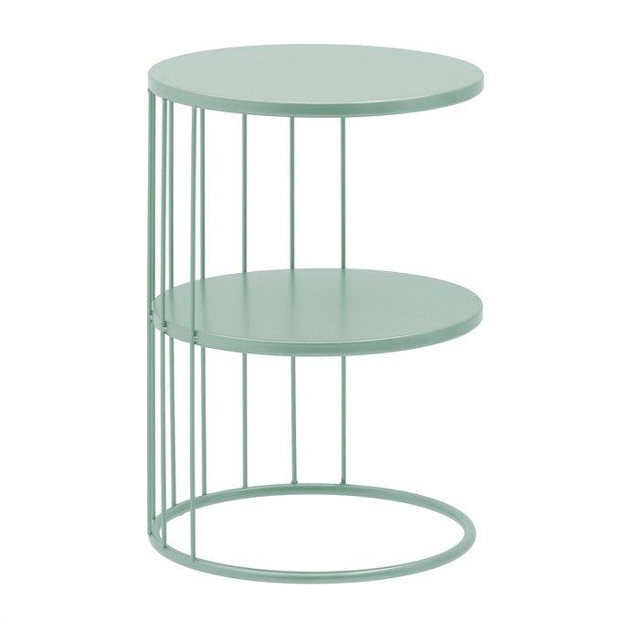 Кофейный столик бирюзового цвета